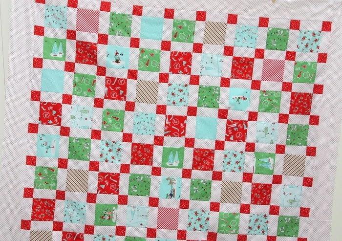 Новогоднее одеяло
