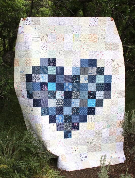 Сердце из квадратов