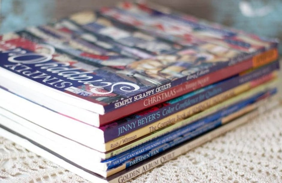 Книги по пэчворку из Америки